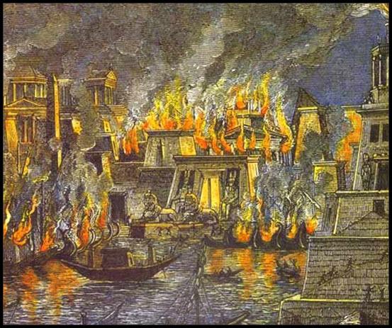 library-of-alexandria-burns